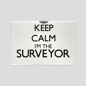 Keep calm I'm the Surveyor Magnets