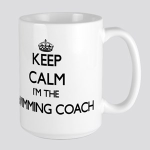 Keep calm I'm the Swimming Coach Mugs