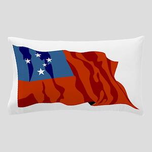 Western Samoa Flag Pillow Case