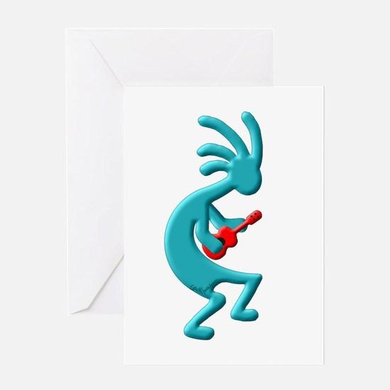 Ukulele Greeting Card