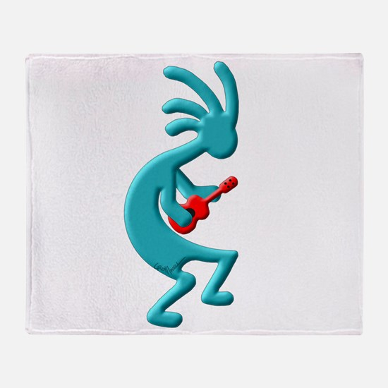 Ukulele Throw Blanket