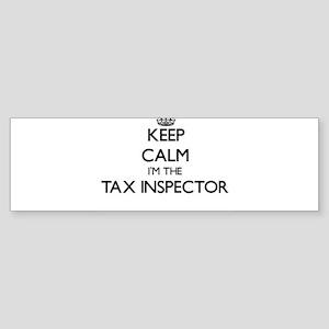 Keep calm I'm the Tax Inspector Bumper Sticker