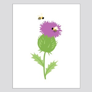 Thistle Bees Posters