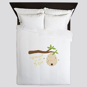 Welcome to the Hive Queen Duvet