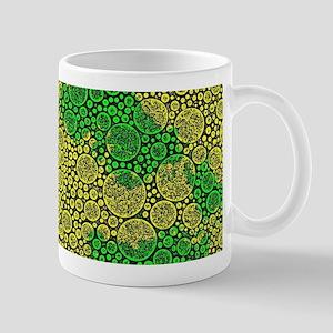 Woodcut Bubbles Gold Mugs