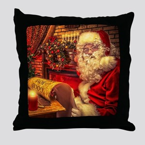 Santa Claus 4 Throw Pillow