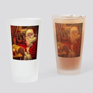 Santa Claus 4 Drinking Glass