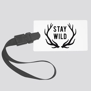 Stay wild Luggage Tag