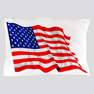United States Flag Pillow Case