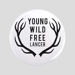 "young,wild, freelancer 3.5"" Button"