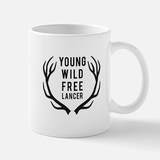 young,wild, freelancer Mugs