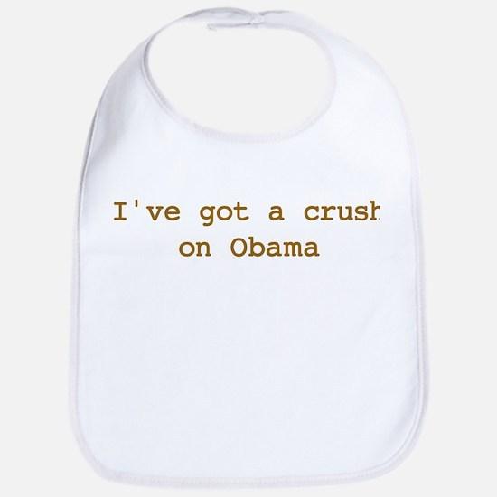 I've got a crush on Obama Bib