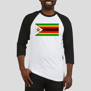 Zimbabwe Flag Baseball Jersey