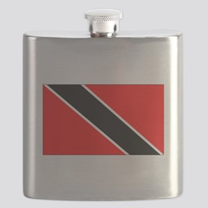 Trinidad And Tobago Flag Flask
