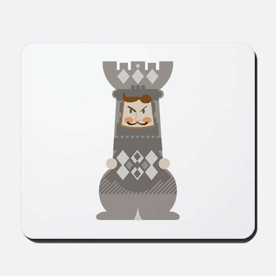 Chess Rook Mousepad