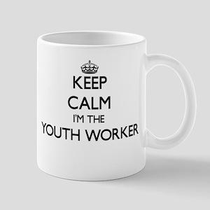 Keep calm I'm the Youth Worker Mugs