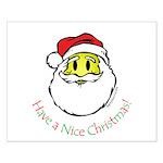 Santa Smiley (1) Small Poster