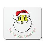 Santa Smiley (1) Mousepad