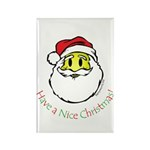 Santa Smiley (1) Rectangle Magnet (100 pack)