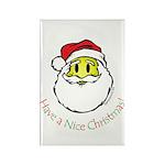Santa Smiley (1) Rectangle Magnet (10 pack)