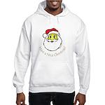 Santa Smiley (1) Hooded Sweatshirt