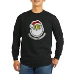 Santa Smiley (1) Long Sleeve Dark T-Shirt