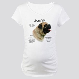 Mastiff (fawn) Maternity T-Shirt