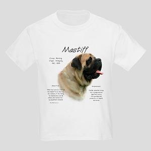 Mastiff (fawn) Kids Light T-Shirt