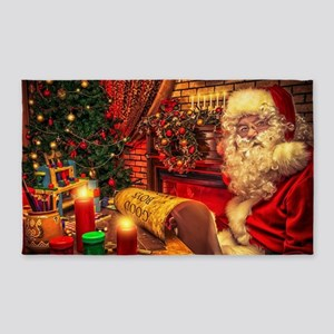 Santa Claus 4 3'x5' Area Rug