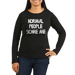 Normal People Sca Women's Long Sleeve Dark T-Shirt