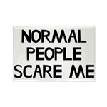 Normal People Scare Me Rectangle Magnet (10 pack)