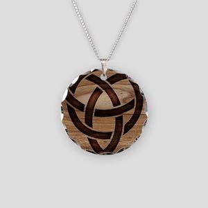 celtic knot Necklace Circle Charm