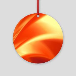 Orange Flush Ornament (Round)