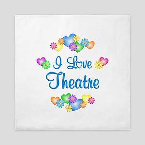 I Love Theatre Queen Duvet