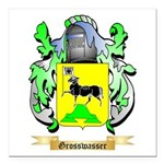 Grosswasser Square Car Magnet 3