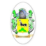 Grosswasser Sticker (Oval 50 pk)