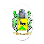 Grossu Oval Car Magnet