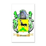 Grosson Rectangle Car Magnet