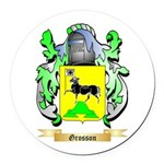 Grosson Round Car Magnet