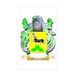 Grossmann Sticker (Rectangle 50 pk)