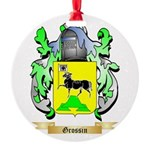Grossin Round Ornament