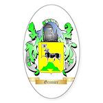 Grosser Sticker (Oval 50 pk)