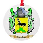 Grossberg Round Ornament