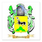 Grossberg Square Car Magnet 3