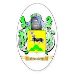 Grossberg Sticker (Oval 50 pk)