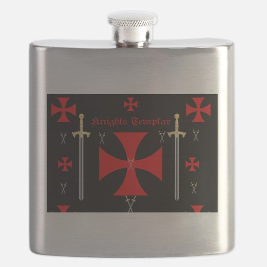 Knights Templar Flask