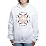 Hypnotic Peace Delight Women's Hooded Sweatshirt