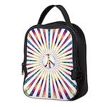 Hypnotic Peace Delight Neoprene Lunch Bag