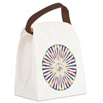 Hypnotic Peace Delight Canvas Lunch Bag