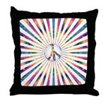 Hypnotic Peace Delight Throw Pillow